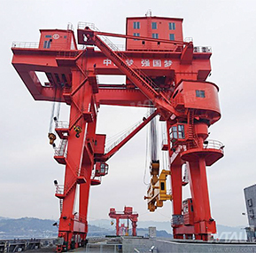 Fujian Chitan Power Plant gantry crane  safe   monitoring system project
