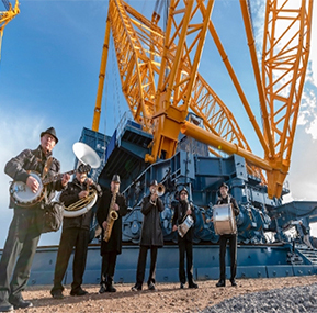 The world's largest crane -Crane technology for nuclear construction projects