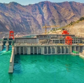 Waterproof CCTV Monitoring Systems (Portal Crane)   for Jinsha Power Station