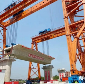 Weite Crane Safety Monitoring System Support for Beam Lifting Equipment of  China Railway construction