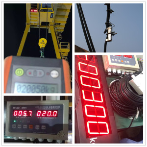 30t Gantry Crane use Overload Limiter Safety Device  / WTZ-A100