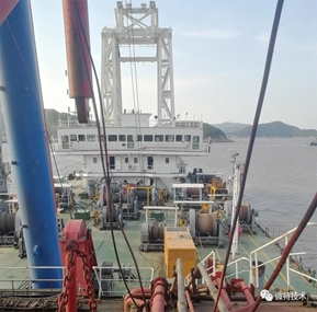 Weite Technologies  Support Load Moment Indicator System for Haiwei 951 pile-ship