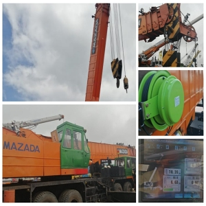 PH T450  45t telescopic crane use WTL-A700 load moment indicator in Bangladesh