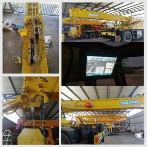25t Tadano TR250 truck crane Safe Load Moment Indicator System Installation in Brunei