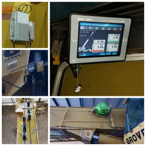 45t grove TMS 300B load moment indicator system for Mexico customer