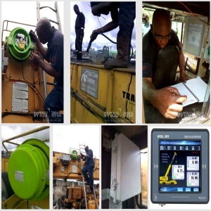 Grove RT865 BXL 65t Crane Load Moment Indicator Safety Monitoring System for Nigeria Customer Oil &Gas Industry