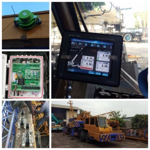 Tadano TG500M 50t mobile crane rated capacity & load moment indicator in hydraulic mobile cranes