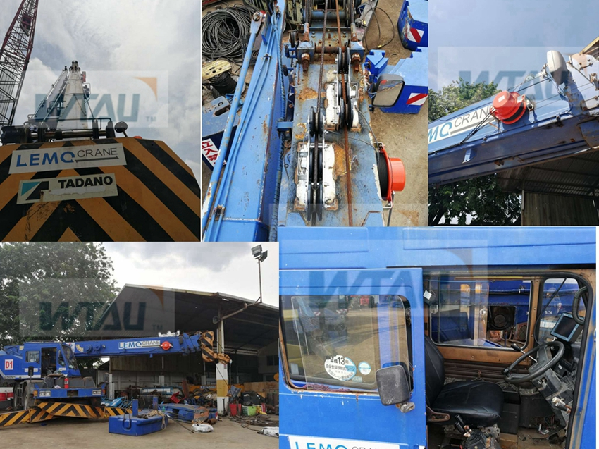 25t Tadano TR 250M Mobile Crane Tadano AML Lmi Replacement for Indonesia Lemo Group