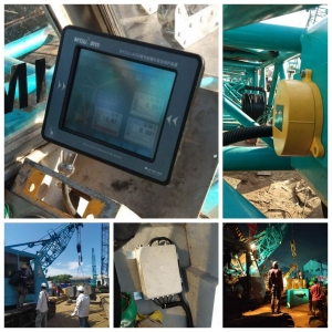 Kobelco 5035 crawler crane load monitoring system for Indonesia customer
