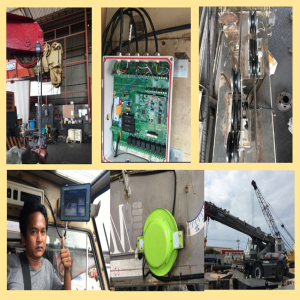 KATO SR250SP Crane Computer Lmi System for Indonesia  Crane  Owners
