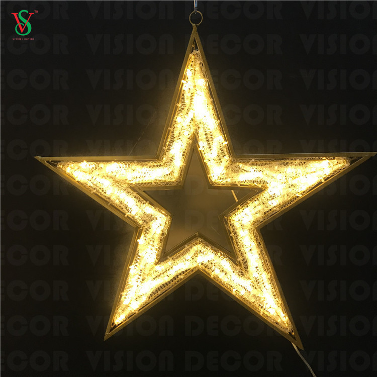 Christmas 2D Star Lights