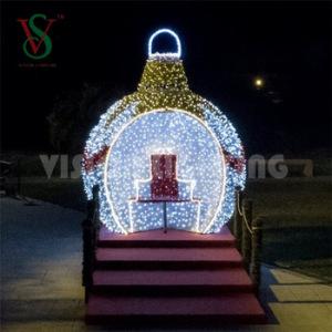 Illuminated 3D Large Ball Light