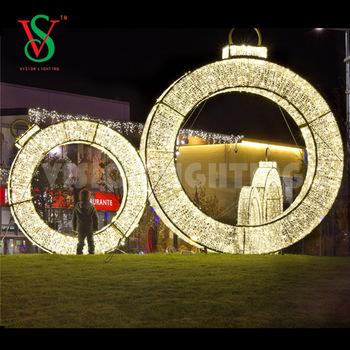 Theme Park Decoration 3D Sculpture Light