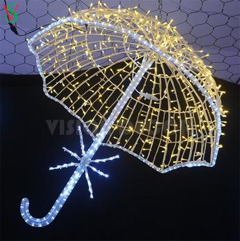 3D Umbrella LED Light
