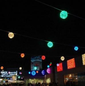 LED drop glue ball effect