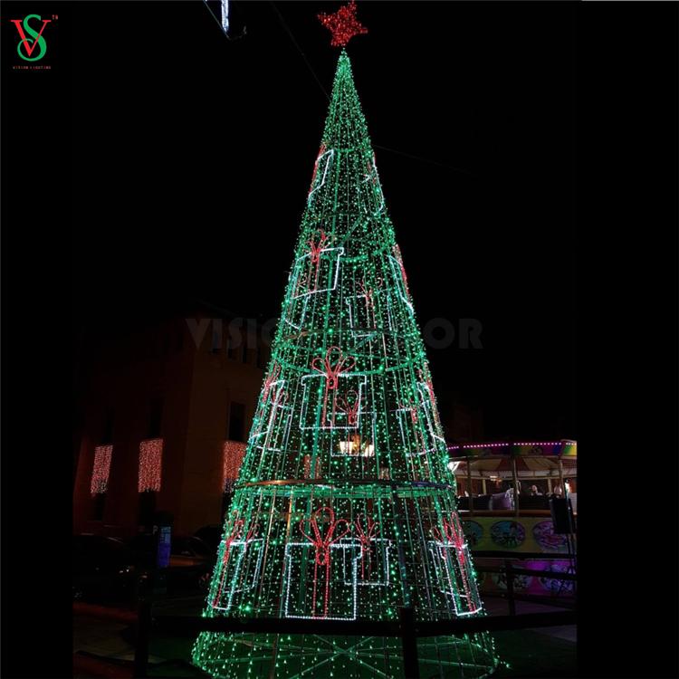 Christmas Cone Tree Light