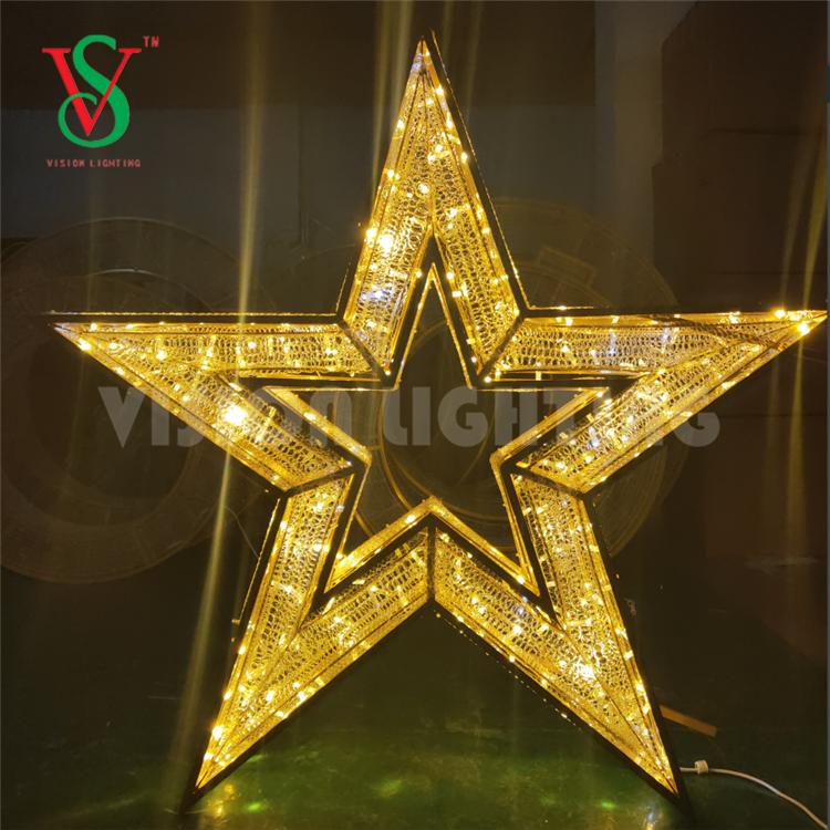 3D Lighted Star Figures