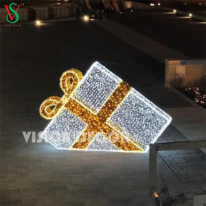 Waterproof 3D Large Gift Box Lights