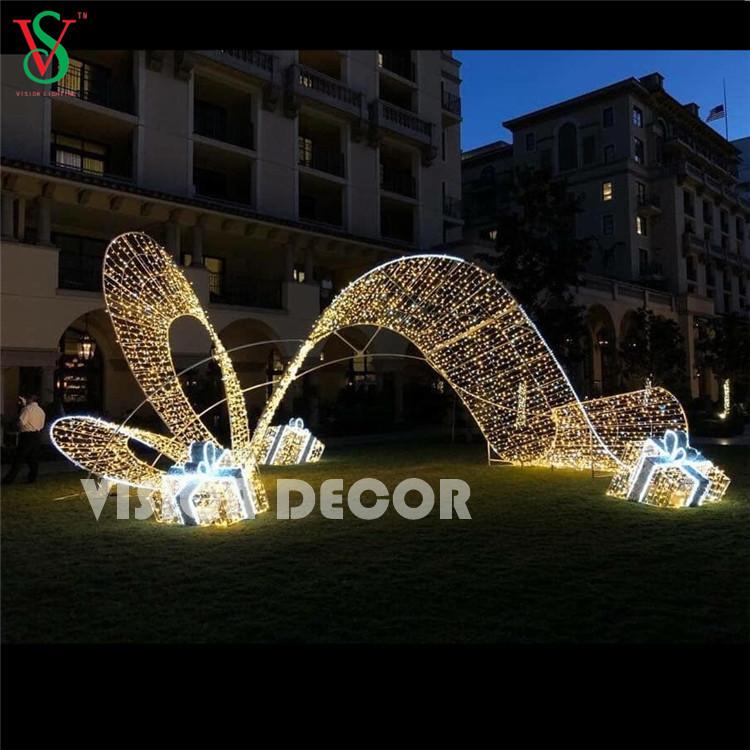 3D Arch Motif Gift Box Lights