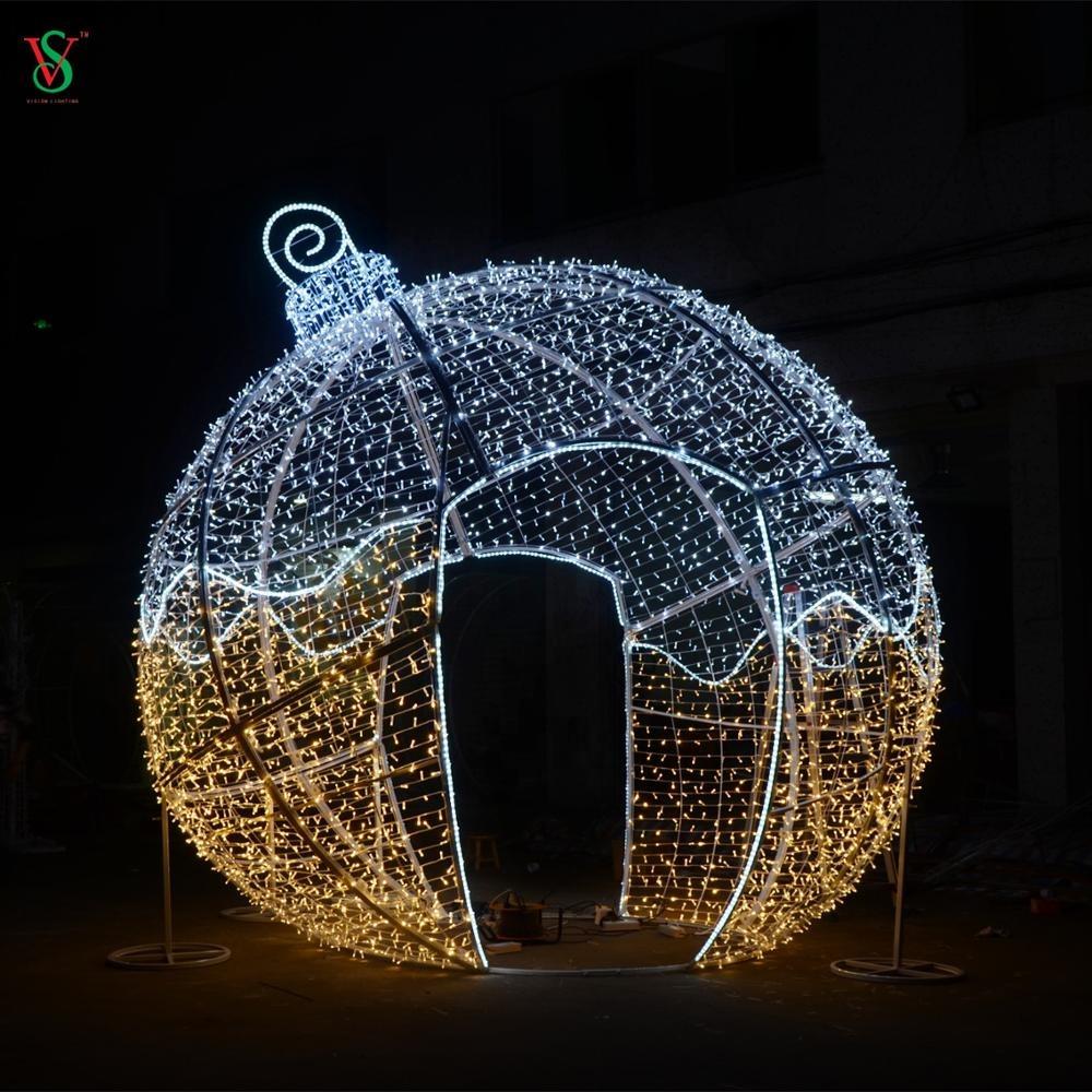Arch Christmas Balls Light