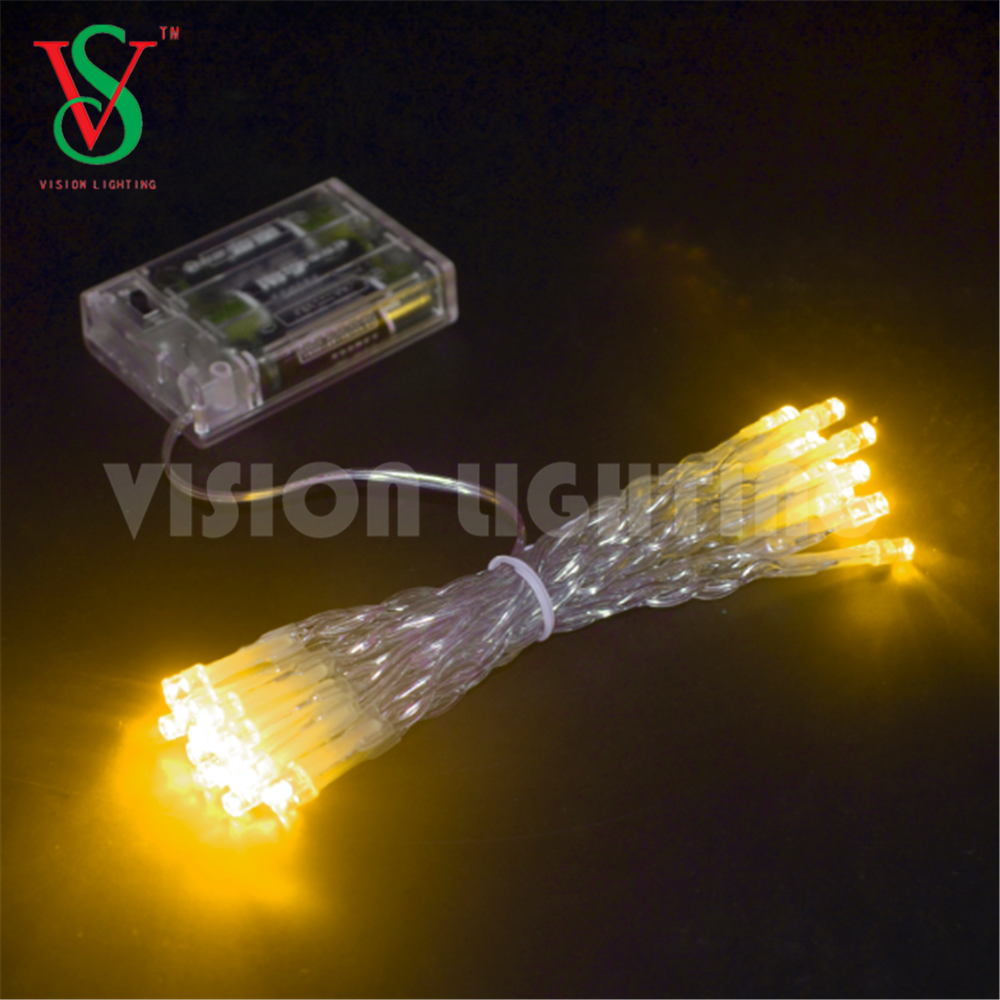 LED String Light with Battery Box