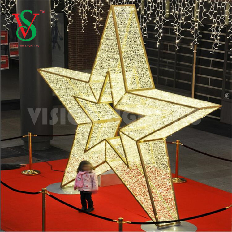 Shopping Mall Star 3D Motif