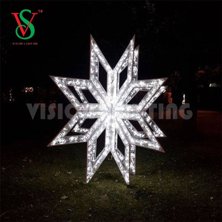 3D Star Motif Lights