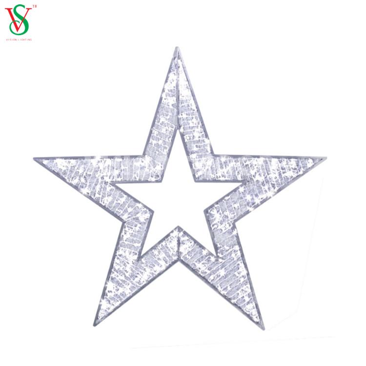 2D Star Motif Decorative