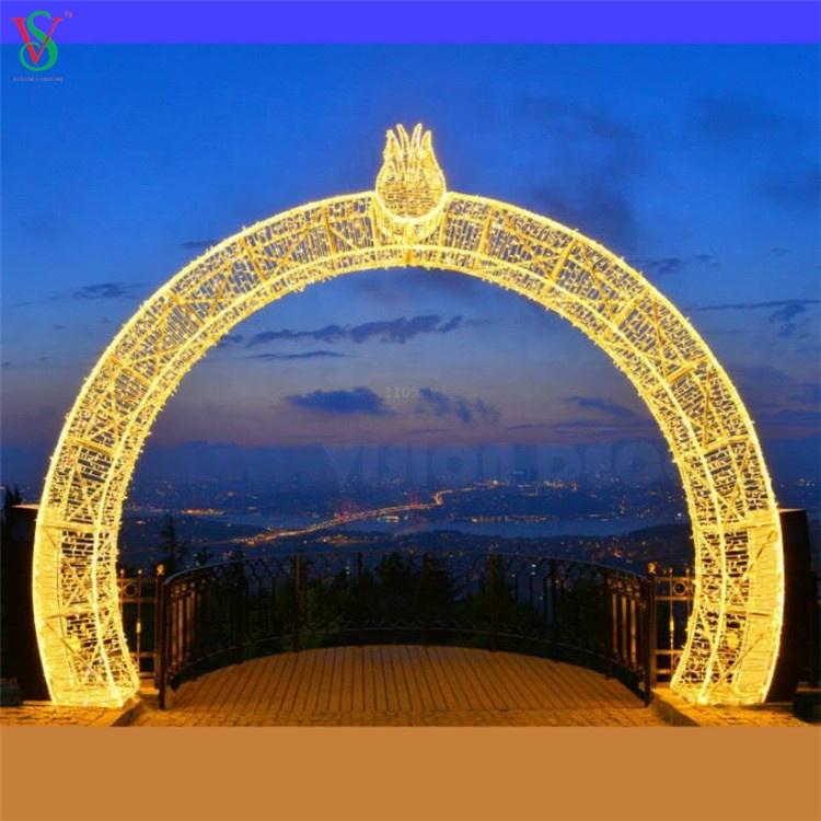 Golden Arch LED Light
