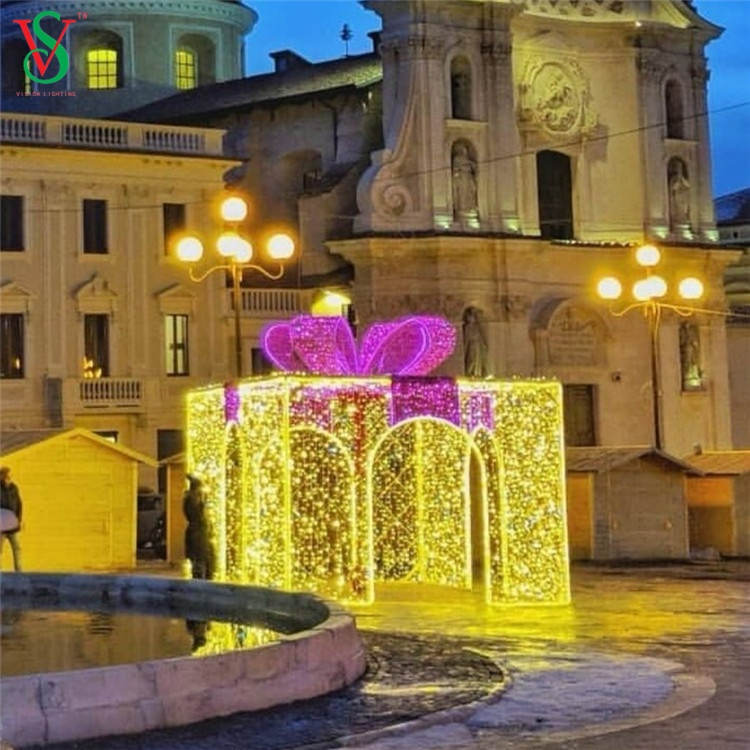 LED Christmas Gift Boxes