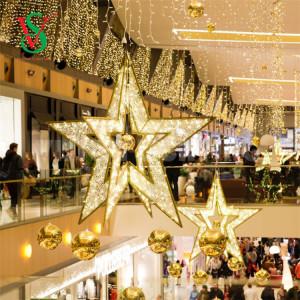 Christmas 3D Star Motif Lights