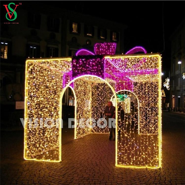 Giant Gift Box Lights