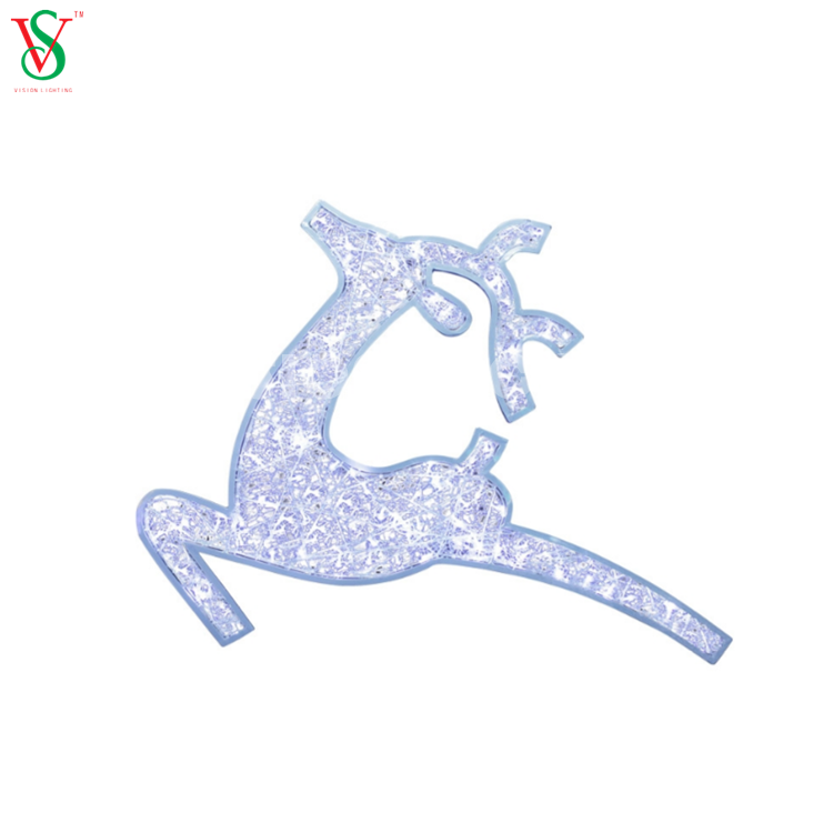 2D Reindeer Motif