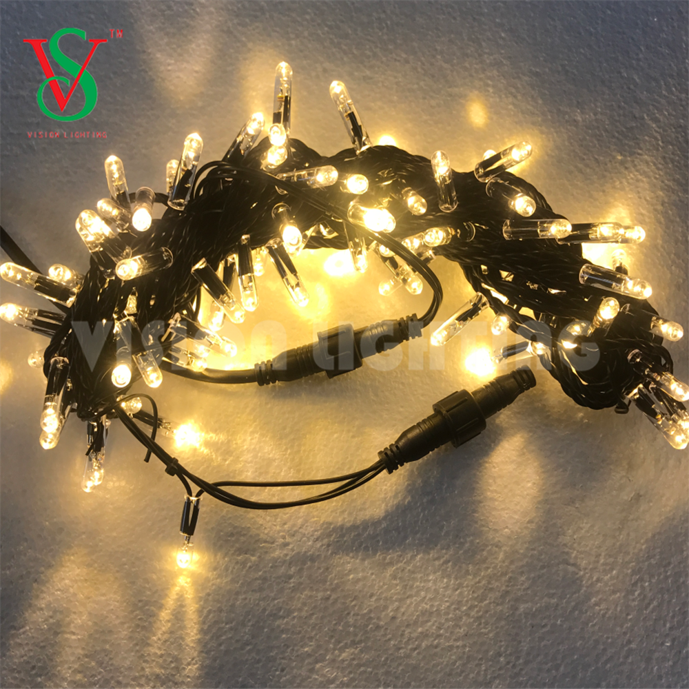 Rubber Cable LED String Light