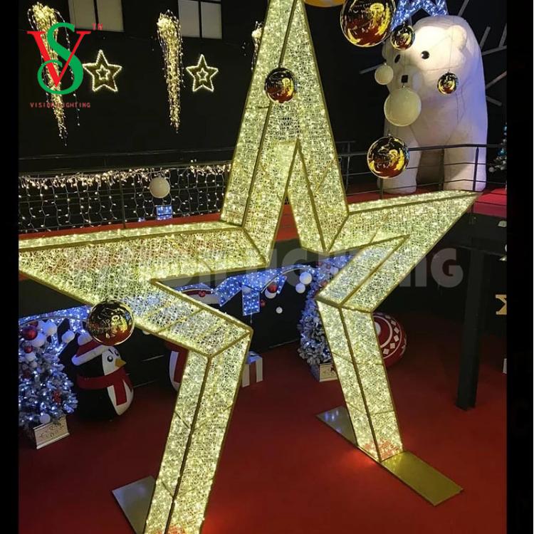 Mall Park LED Christmas Decoration