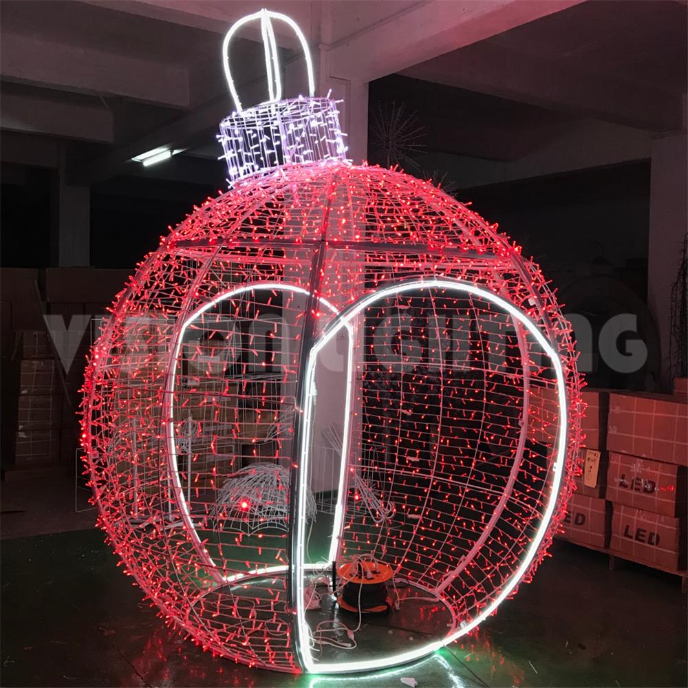 Giant LED Round Ball Decoration Light
