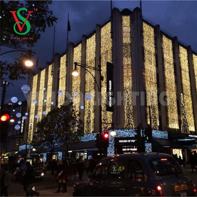 LED Christmas Curtain String Lights