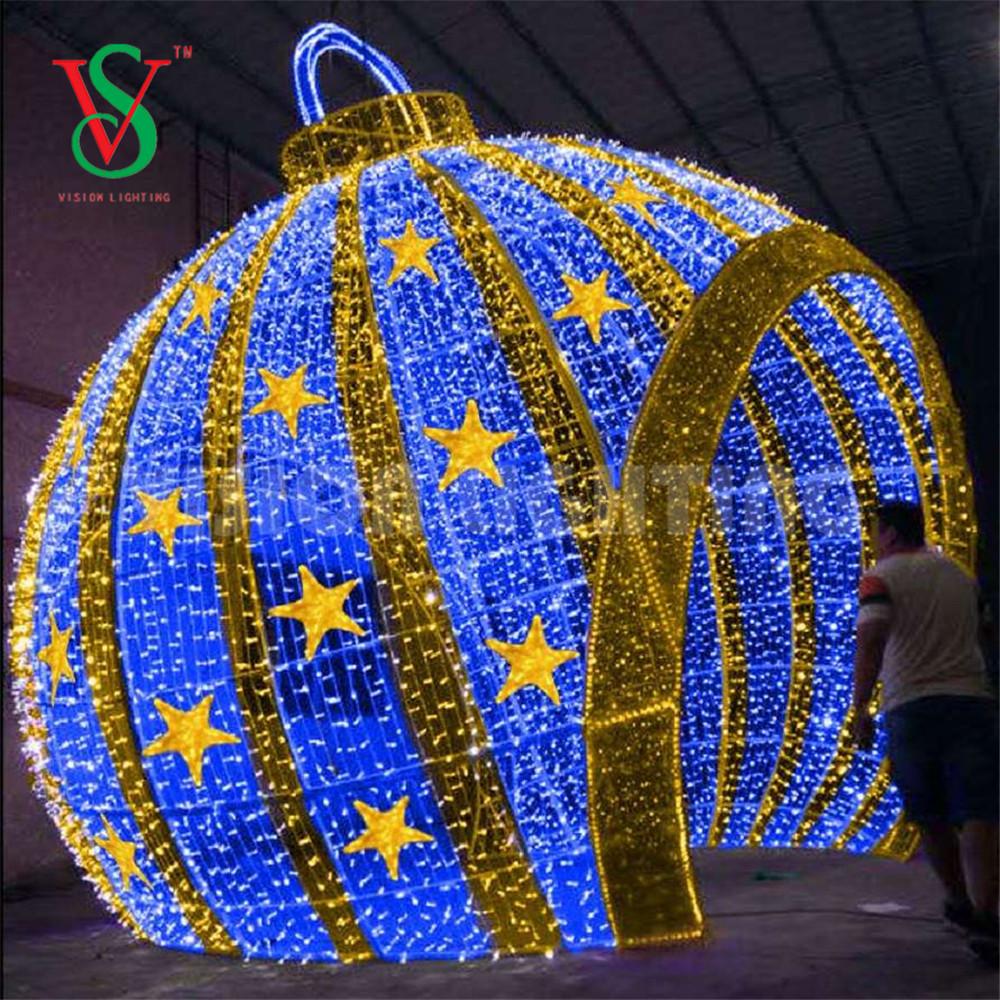 Christmas Ball Shape Light