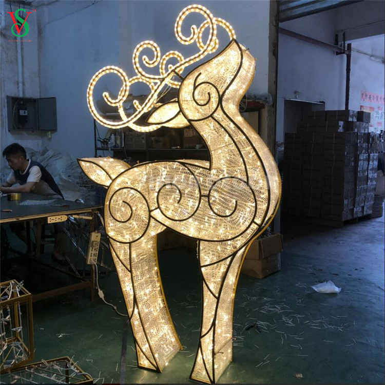 Waterloo Illuminated Reindeer