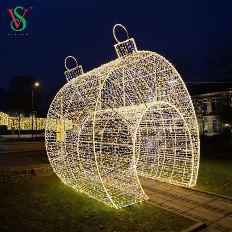 3d Christmas Arch Motif Lights