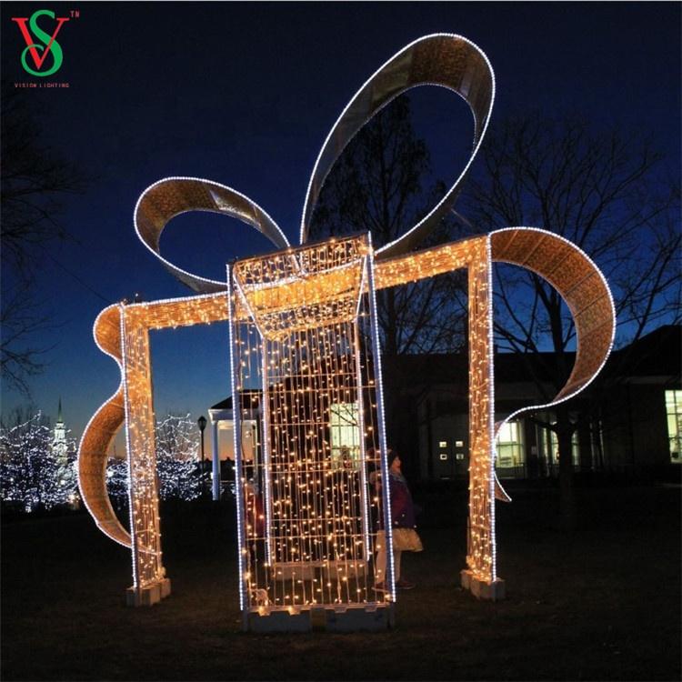 Outdoor Gift Box Lights