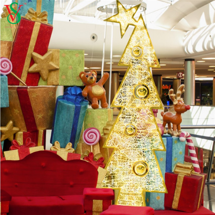 TREE Motif Lights for Shopping Mall