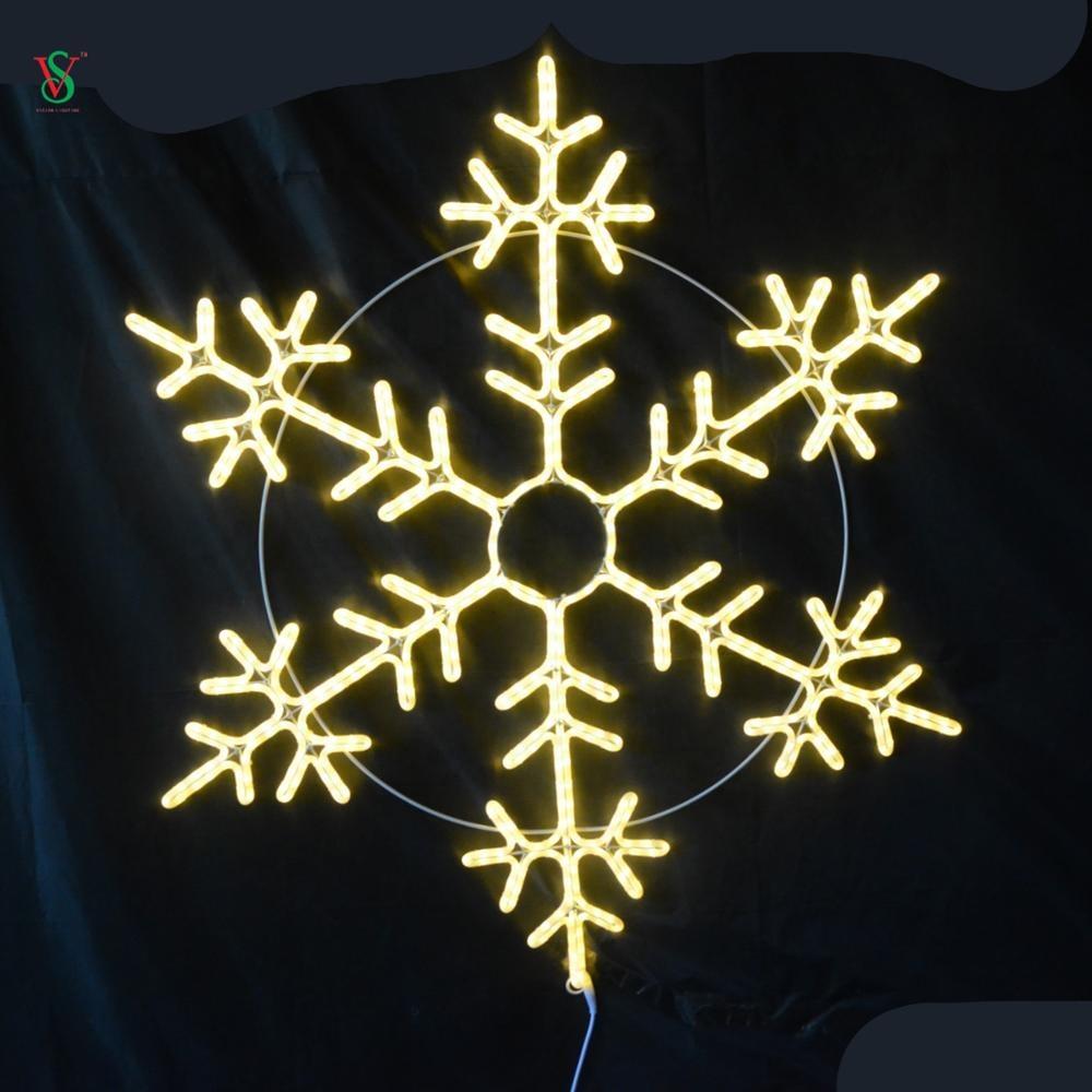 Merry Christmas Snowflake Light