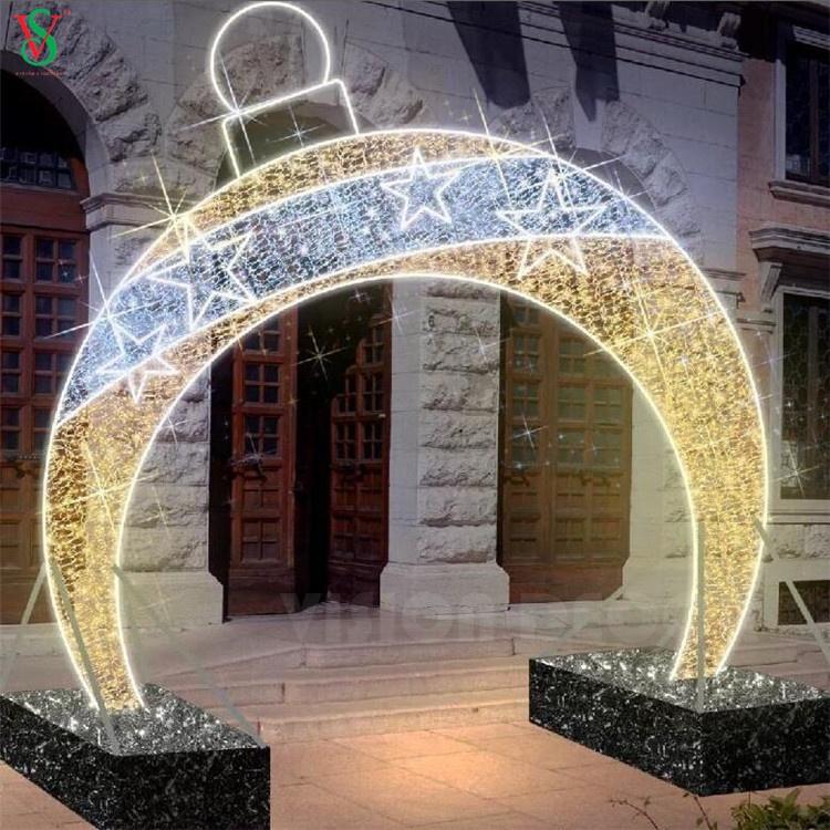 Christmas Decoration Arch Motif Lights