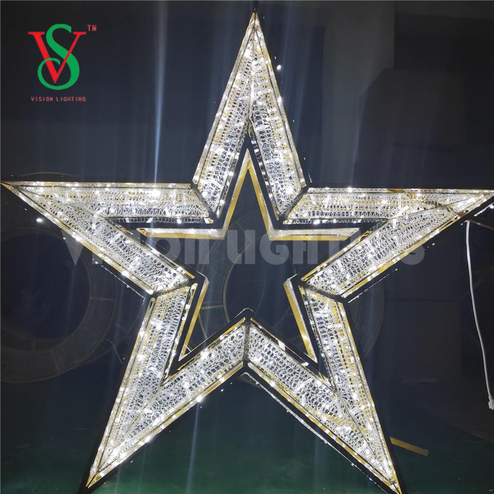 3D LED Star Motif Light