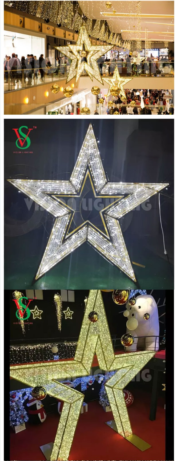 Christmas Displays Decorative Illuminated Motif Lights