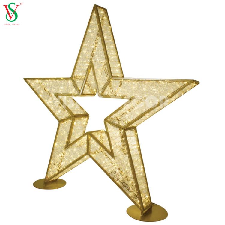 3D Star LED for Christmas