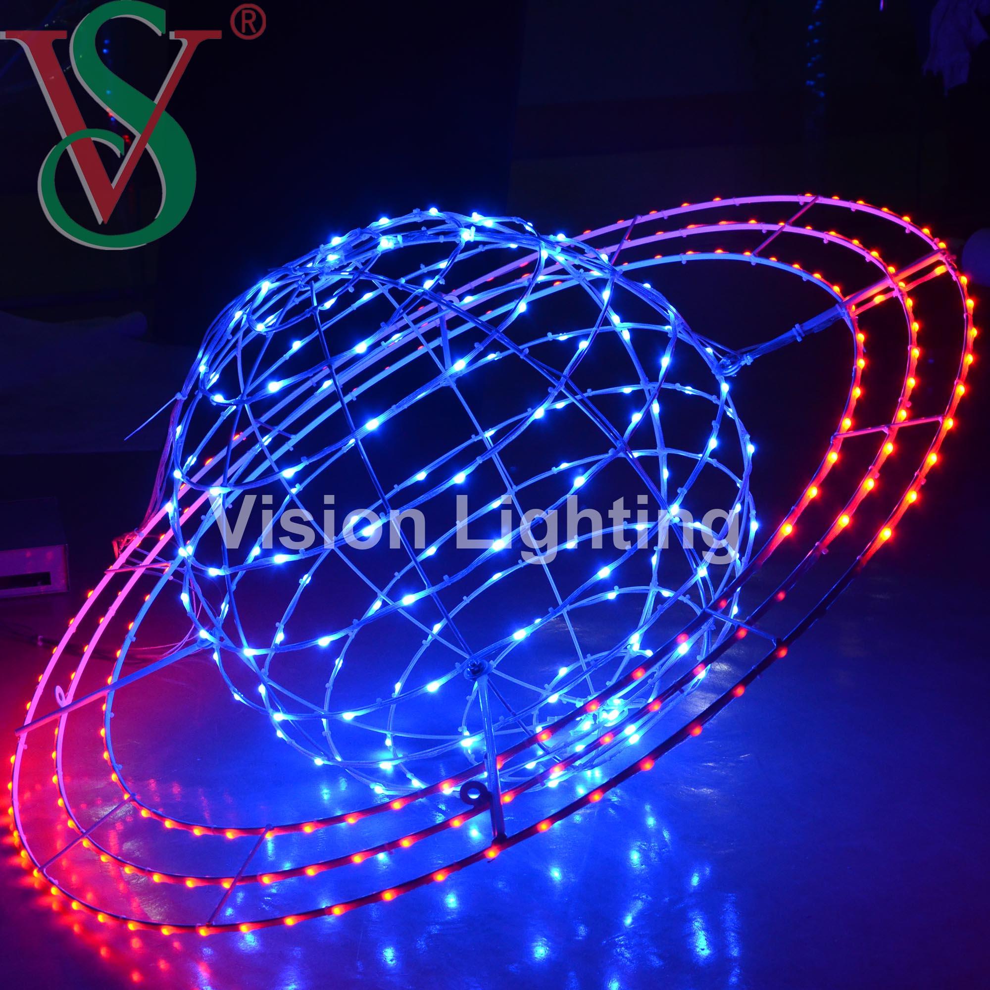 2021 Nuevo RGB Luces DMX Luz Terrestre de Rotacion Girando Programable