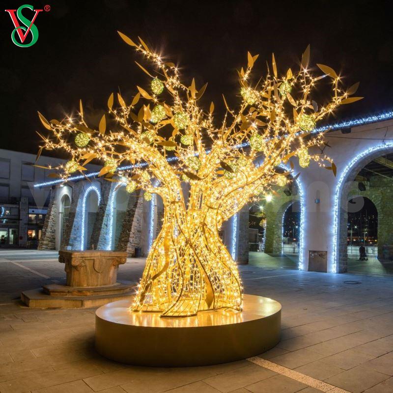 Wholesale Light Led String Christmas Light Decorative White Twig Lights 3D Motif Branch Tree