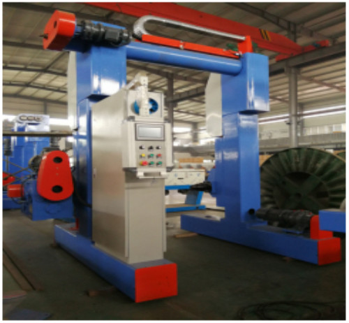 Gantry Type Take-up/Pay off/ Active Dual-Bobbin Pay-off/Take-up/Cable Machine